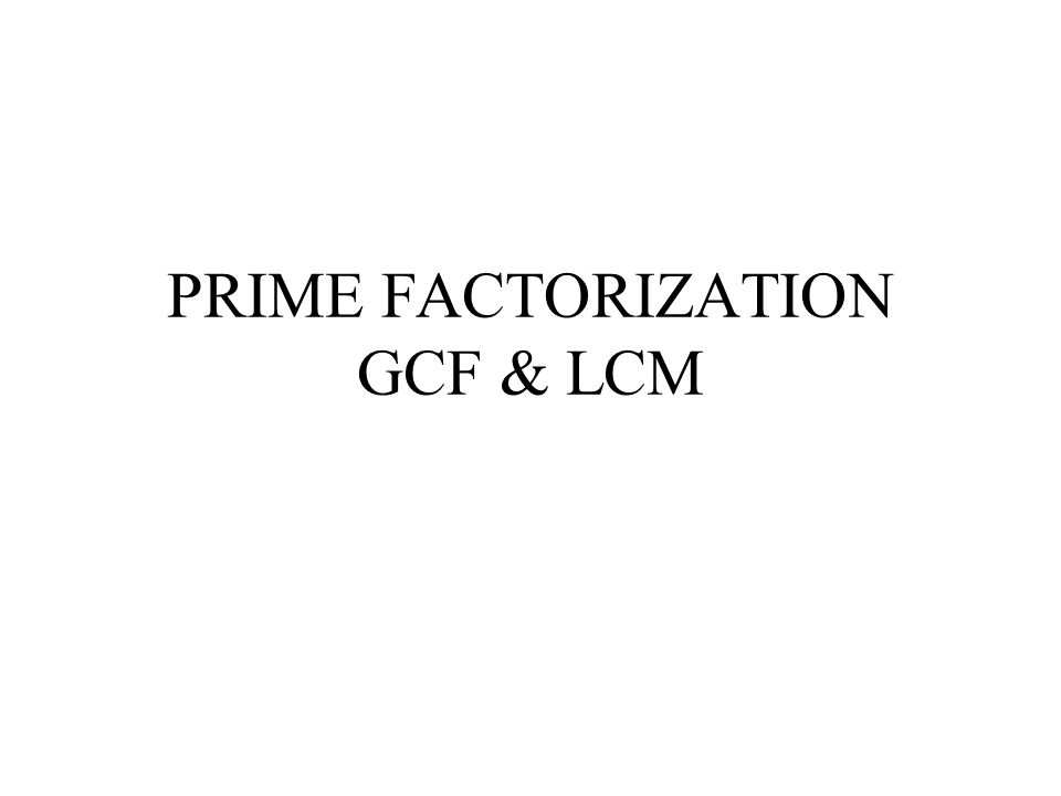 FACTORING  Factoring is the opposite of multiplying  A Factor Times another Factor Equals a Product  A Composite Number can be factored by two or more numbers  Factoring is breaking Down a Product into it's Factors  Prime Factorization is breaking down a Product into it's Prime Factors.