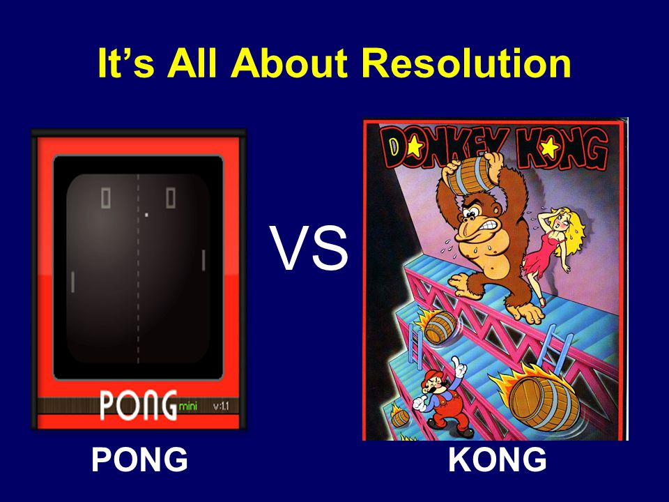 It's All About Resolution VS PONGKONG