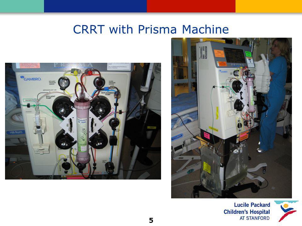 5 CRRT with Prisma Machine