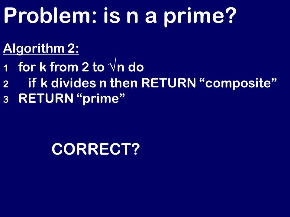 Insertion sort – correctness.