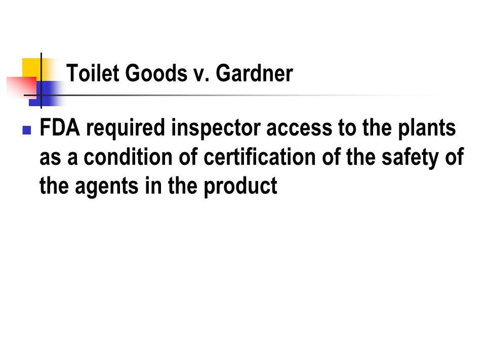 Toilet Goods v.