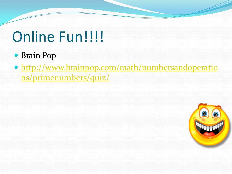 Online Fun!!!.