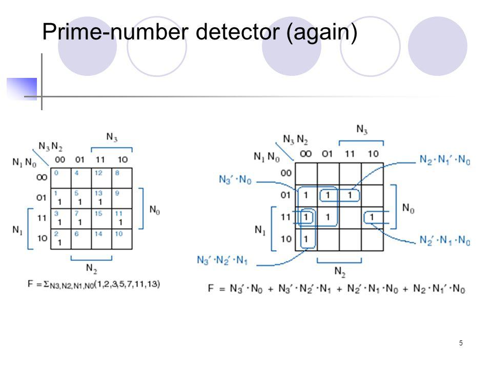 5 Prime-number detector (again)