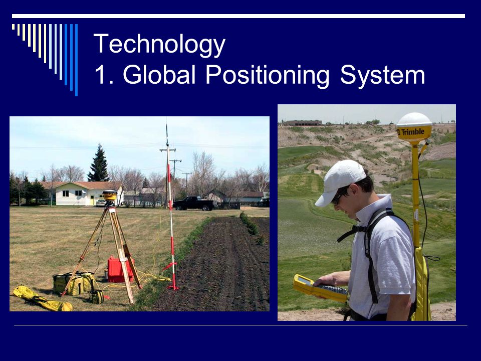 Technology 1. Global Positioning System