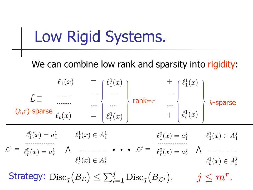 Low Rigid Systems.