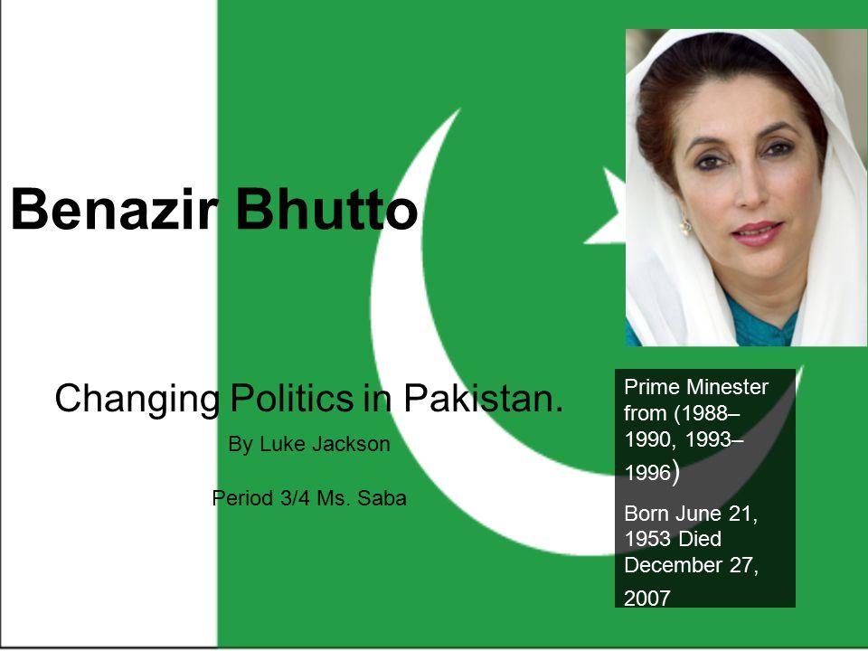 Defining Moment Benazir Bhutto returns to Pakistan.