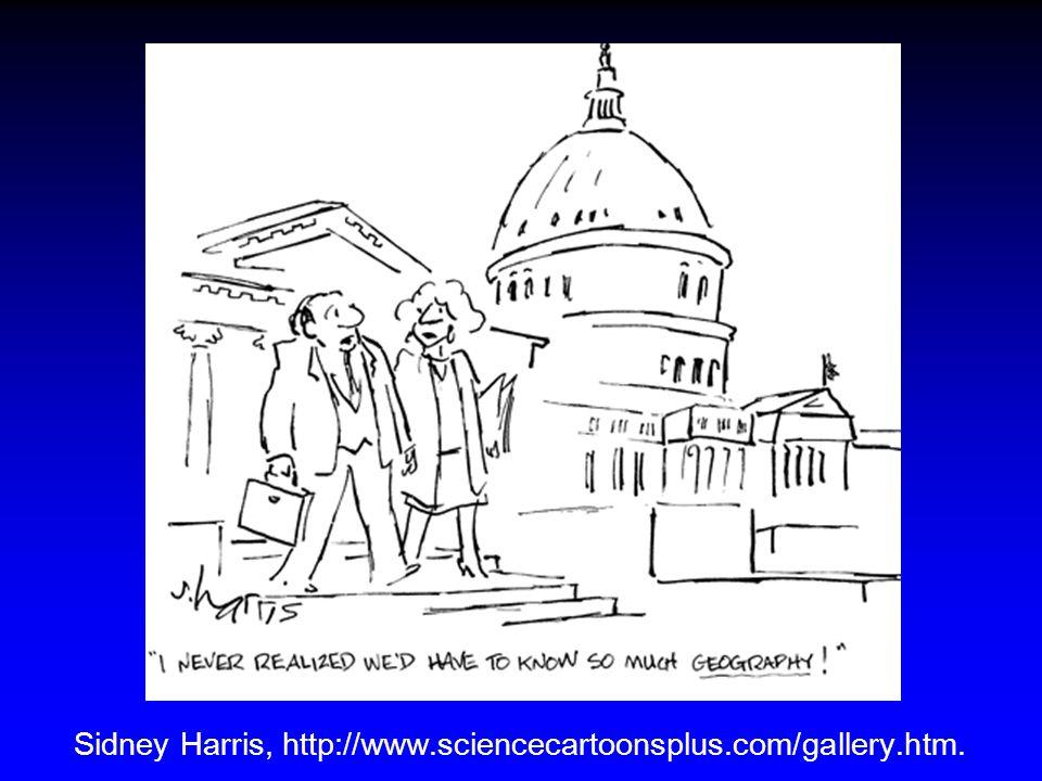 Sidney Harris, http://www.sciencecartoonsplus.com/gallery.htm.
