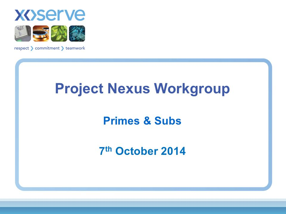 Background Action NEX09/03 from 9 th September Workgroup: –To provide an example of how a Class 4 Prime with a Class 3 Sub meter would actually work with regards to reconciliation.