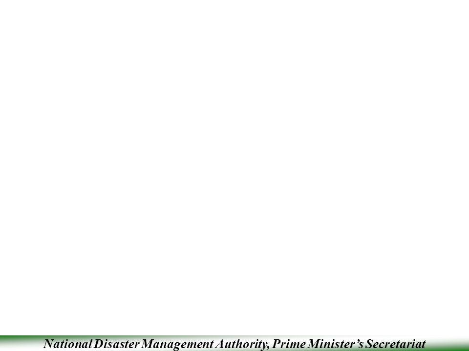 National Disaster Management Authority, Prime Minister's Secretariat