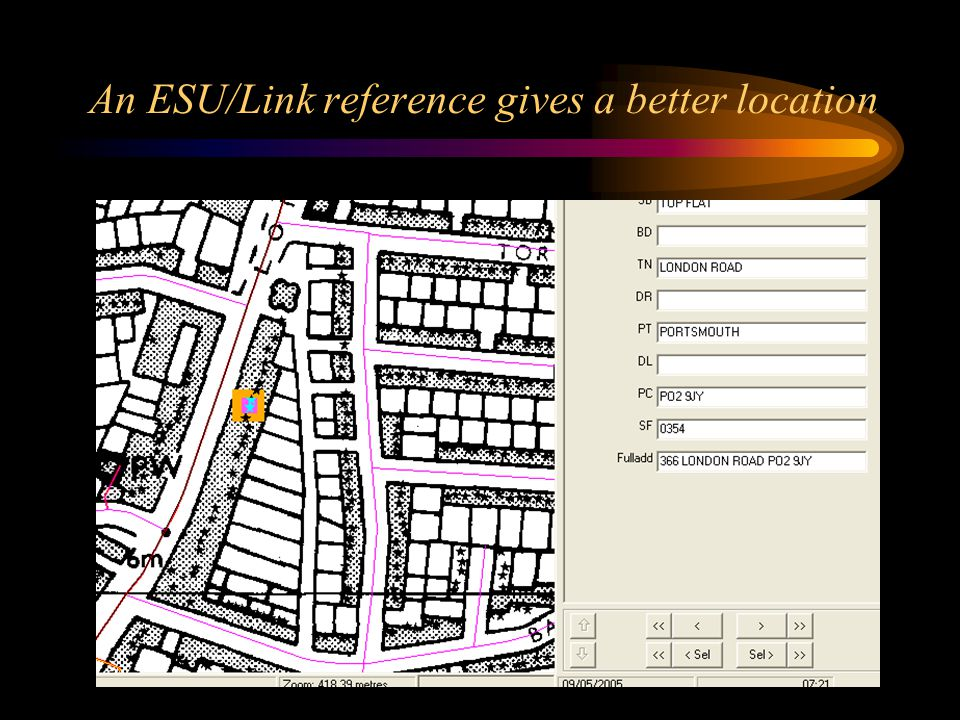 An ESU/Link reference gives a better location