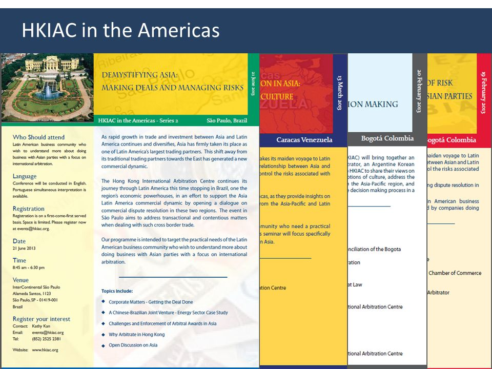 HKIAC in the Americas