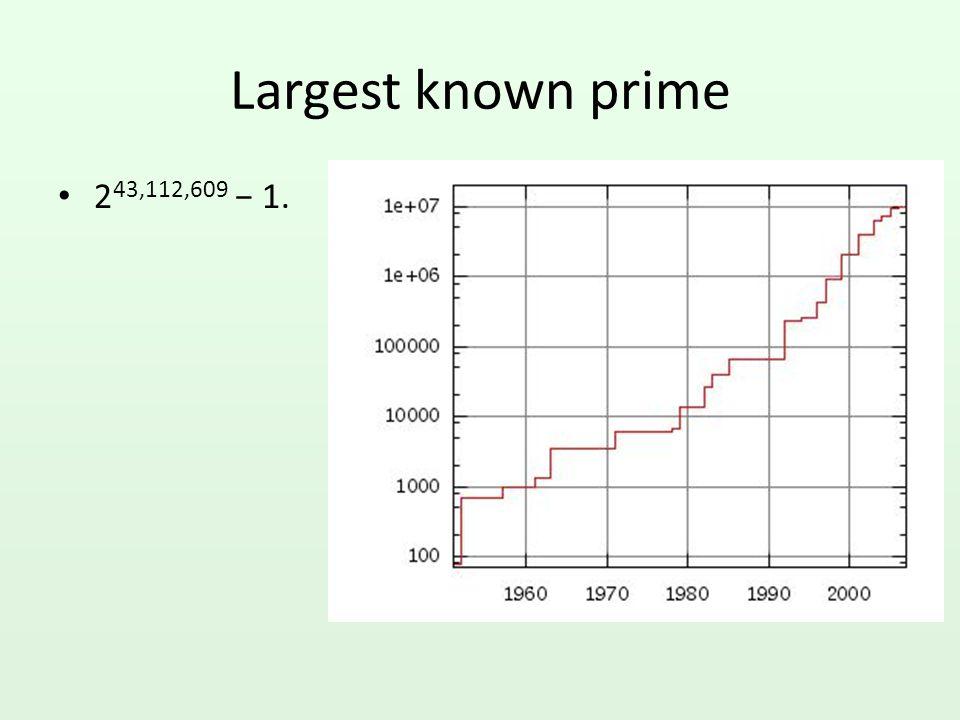An example gcd(1071,1029) =gcd(1029,42) (42= 1071 mod 1029 =gcd(42,21) (21= 1029 mod 42) =gcd(21,0) (0= 42 mod 21) =21: since b=0, we return a