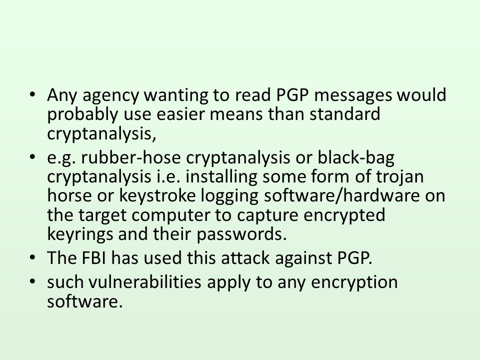 Criminal investigation of Zimmerman PGP encryption found its way outside the US.