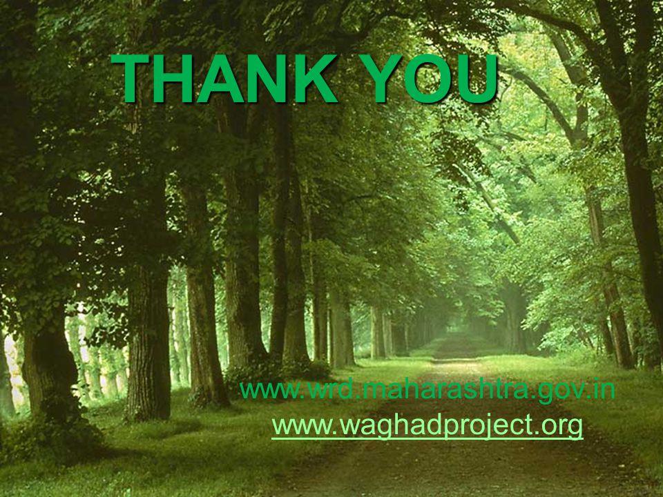 THANK YOU www.wrd.maharashtra.gov.in www.waghadproject.org