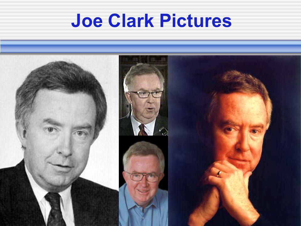 Joe Clark Pictures