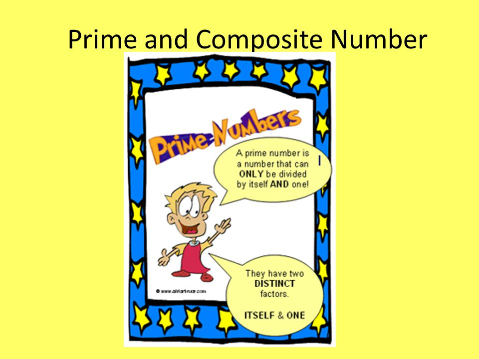 Prime and Composite Number