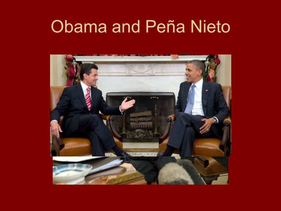Obama and Peña Nieto
