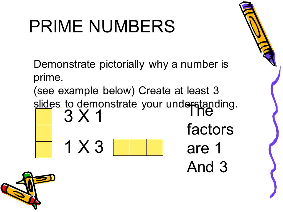 PRIME NUMBERS LList other facts or information you know about prime numbers.