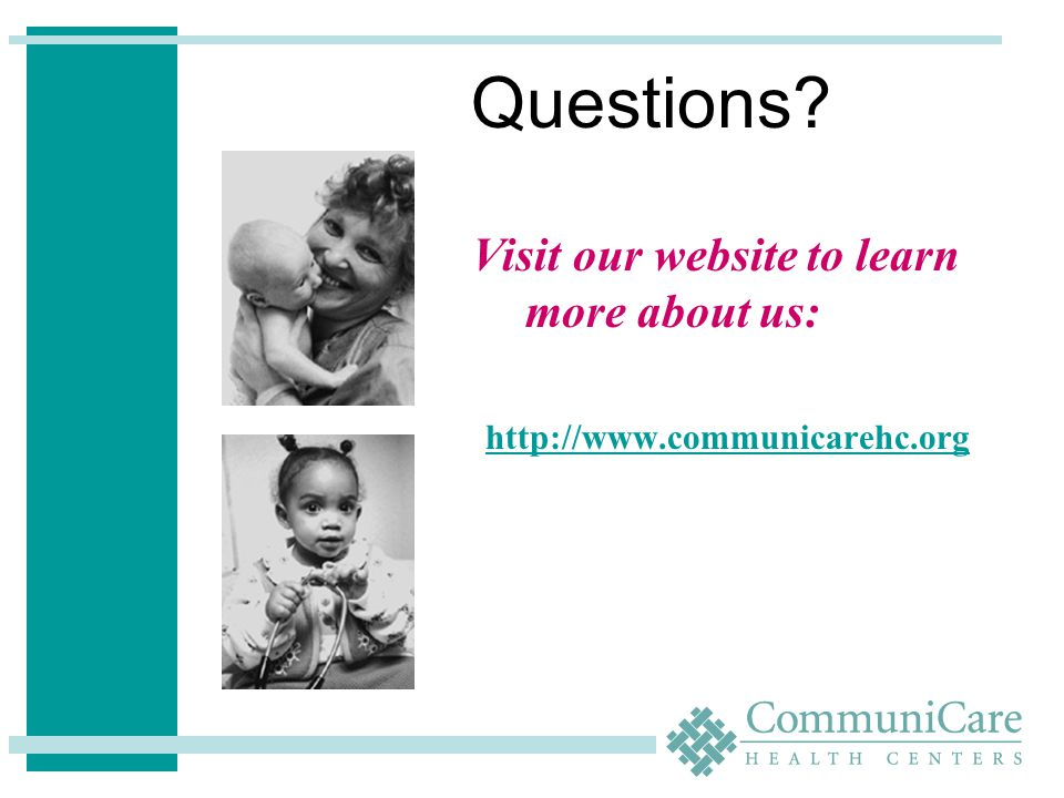 Visit our website to learn more about us: http://www.communicarehc.org Questions?