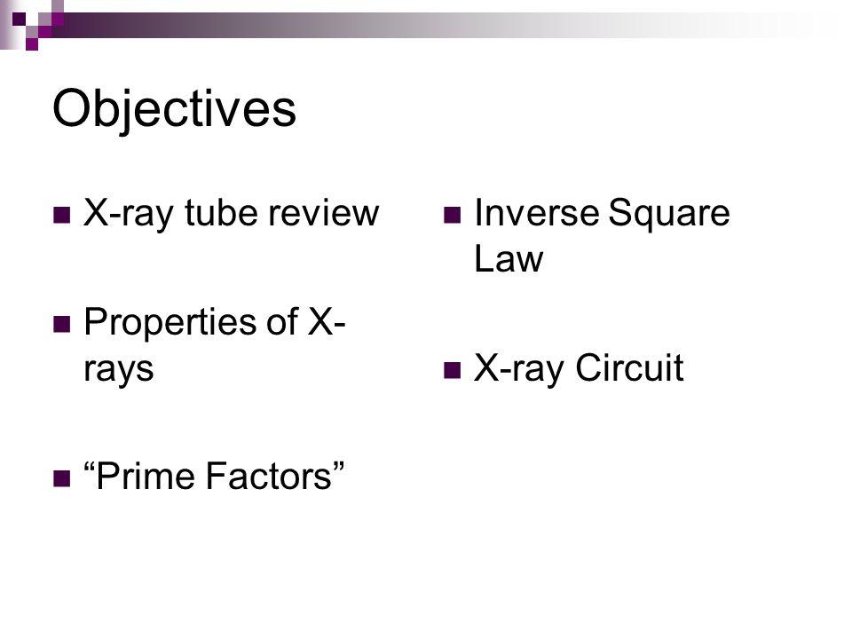 X-Ray Tube Circuit