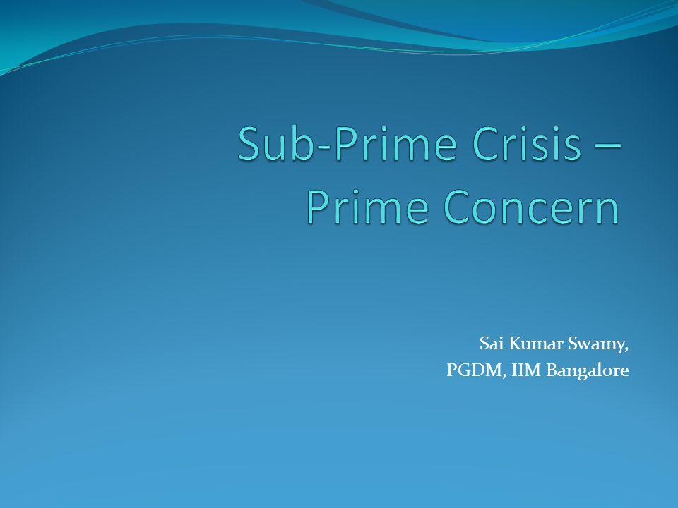 Sai Kumar Swamy, PGDM, IIM Bangalore