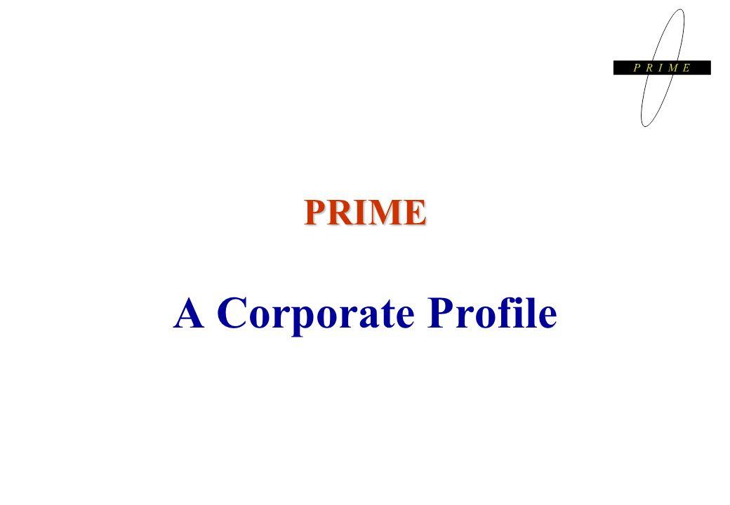 PRIME A Corporate Profile