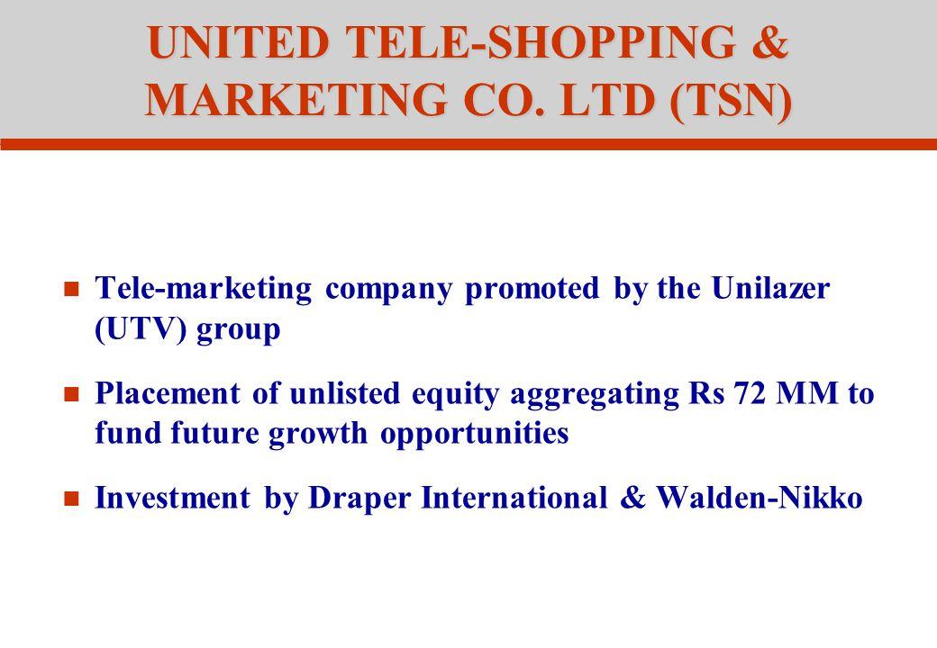 UNITED TELE-SHOPPING & MARKETING CO.