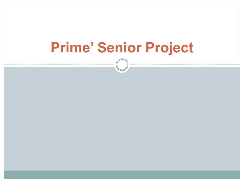 Prime' Senior Project
