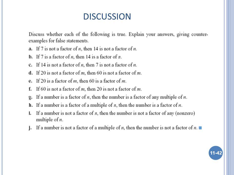 DISCUSSION 11-42