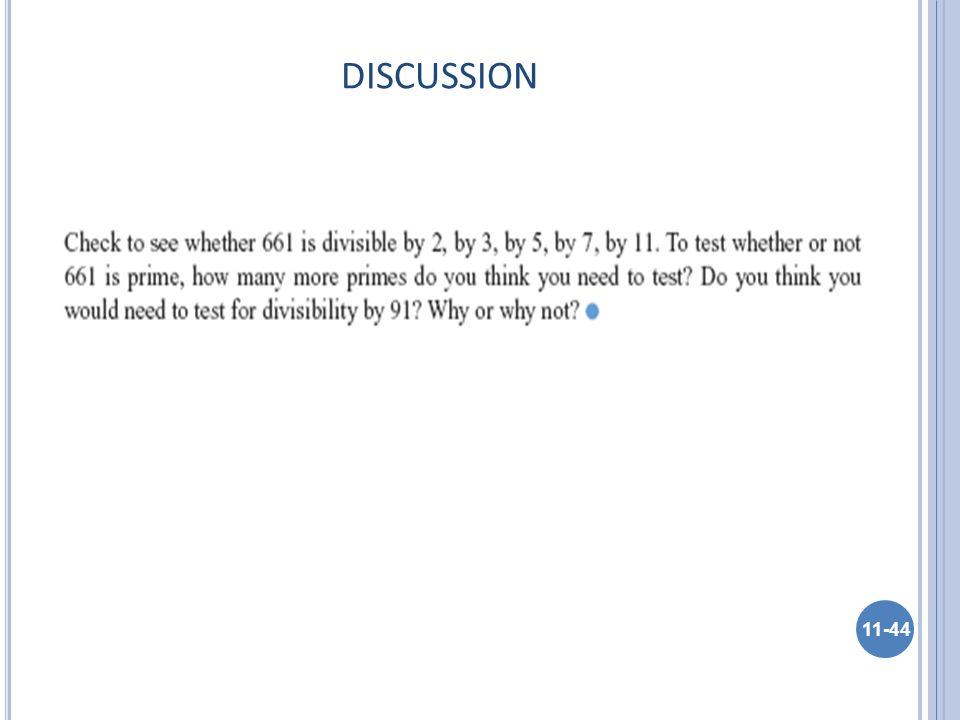 DISCUSSION 11-44