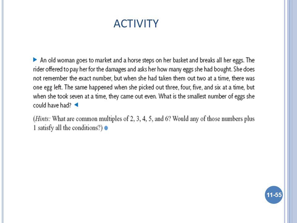 ACTIVITY 11-55