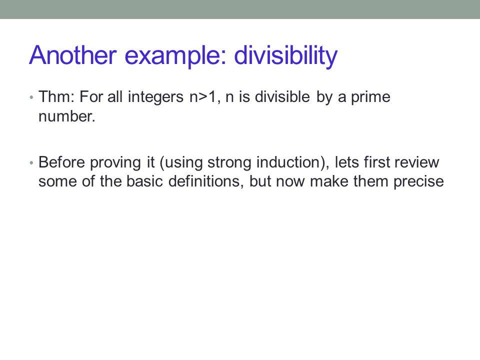 Definition of the sequence: d 1 = 9/10 d 2 = 10/11 d k = (d k-1 )(d k-2 ) for all integers k  3 Thm: For all integers n>0, 0<d n <1.