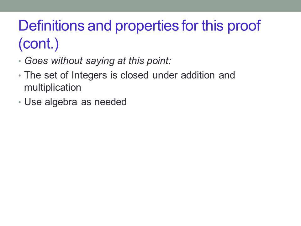 Thm: For all integers n>1, n is divisible by a prime number.