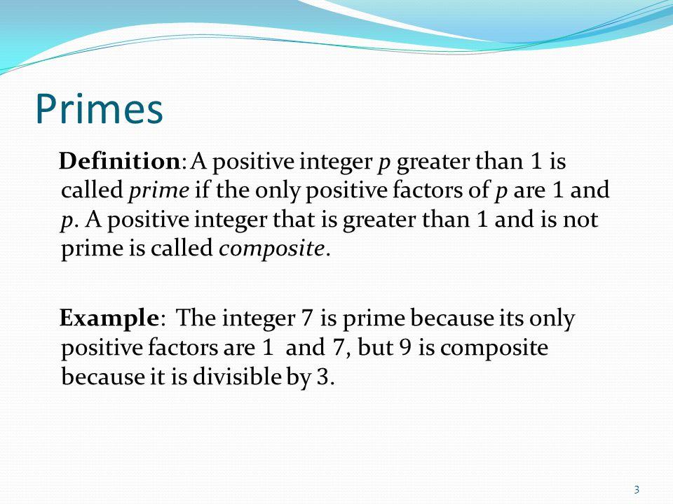 Uniqueness of Prime Factorization We will prove that a prime factorization of a positive integer where the primes are in nondecreasing order is unique.