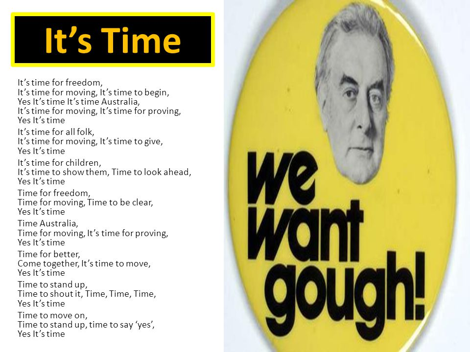 Source Material  Why is Gough Whitlam dressed this way.
