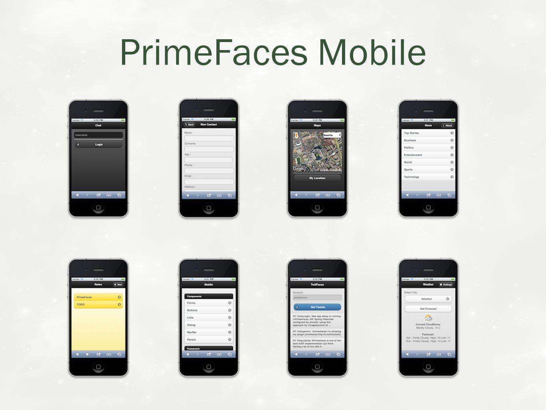PrimeFaces Mobile