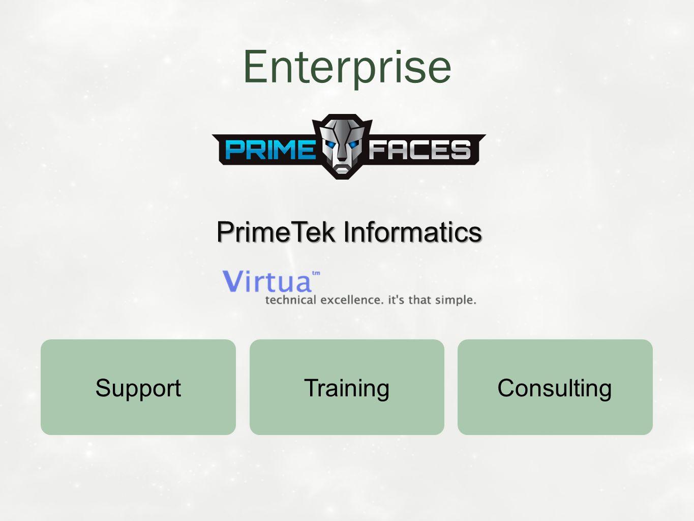 Training Support Consulting Enterprise PrimeTek Informatics