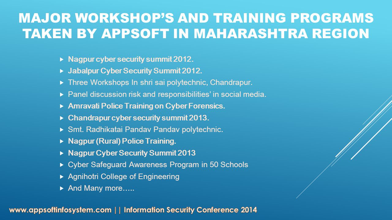  Nagpur cyber security summit 2012.  Jabalpur Cyber Security Summit 2012.