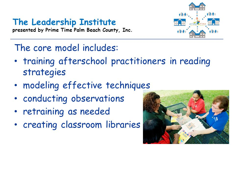 The Leadership Institute presented by Prime Time Palm Beach County, Inc.