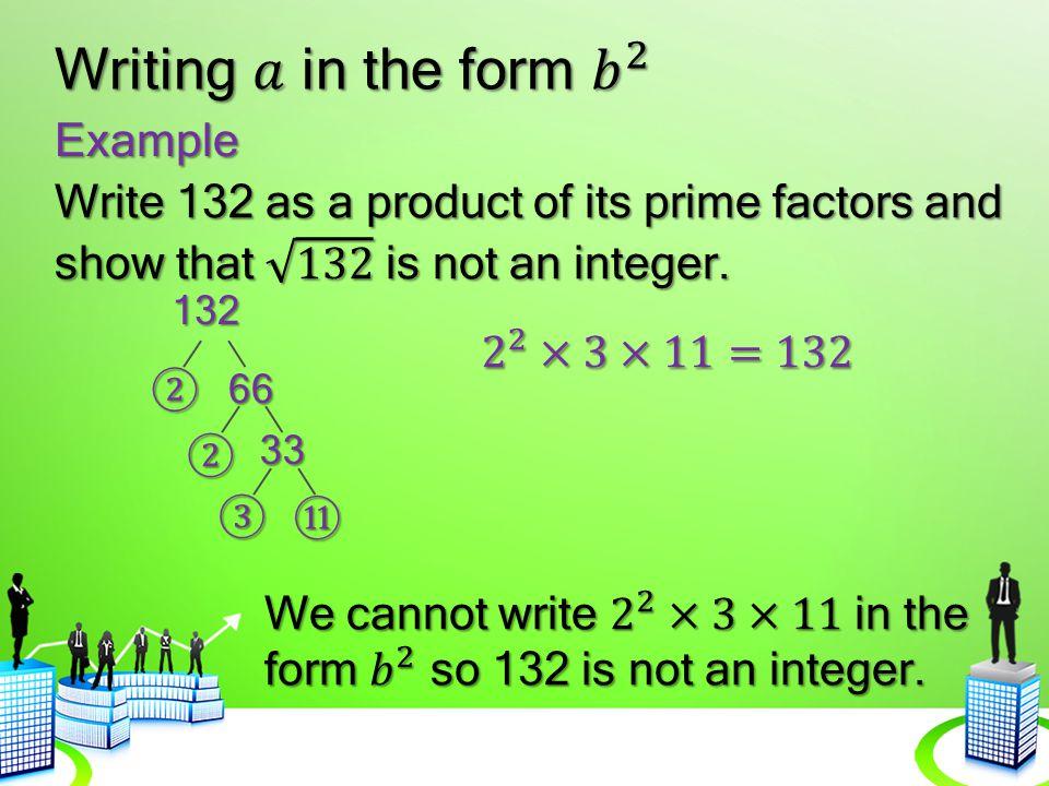 Example 132 ②66 ② 33 ③ ⑪