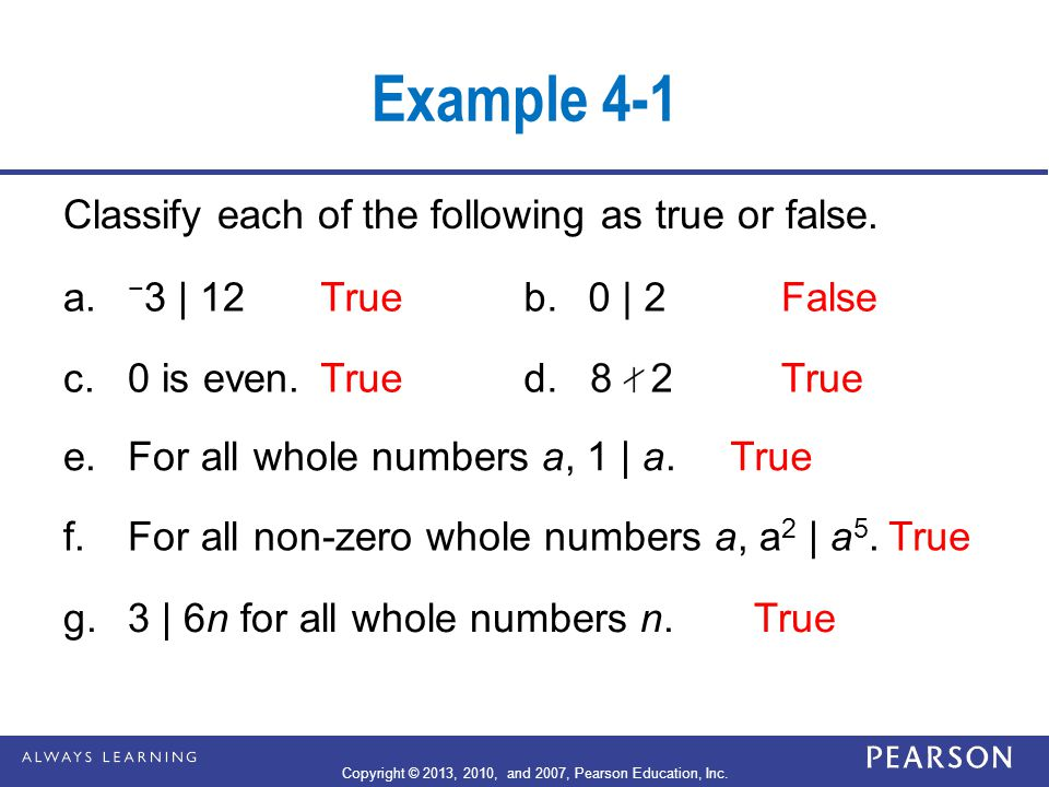 Prime Factorization Composite numbers can be expressed as products of two or more whole numbers greater than 1.