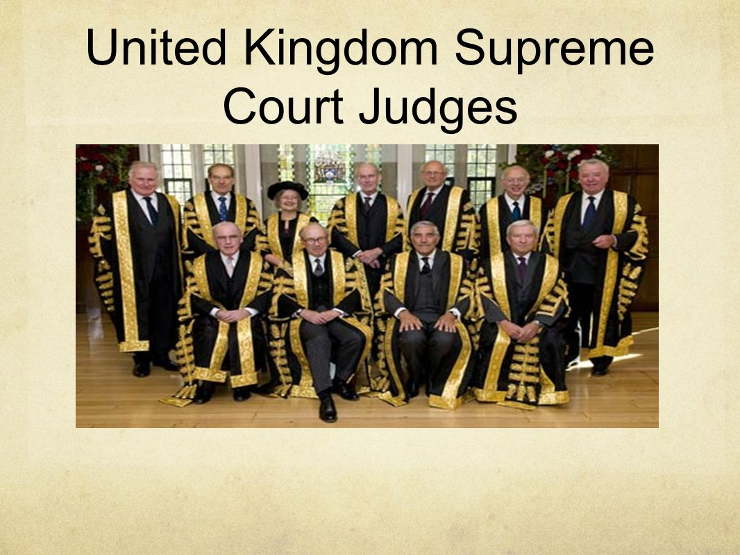 United Kingdom Supreme Court Judges