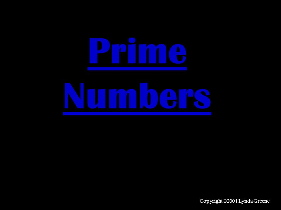 Before we learn to find the Prime Factors of a number, we need to know what a Prime Number is.