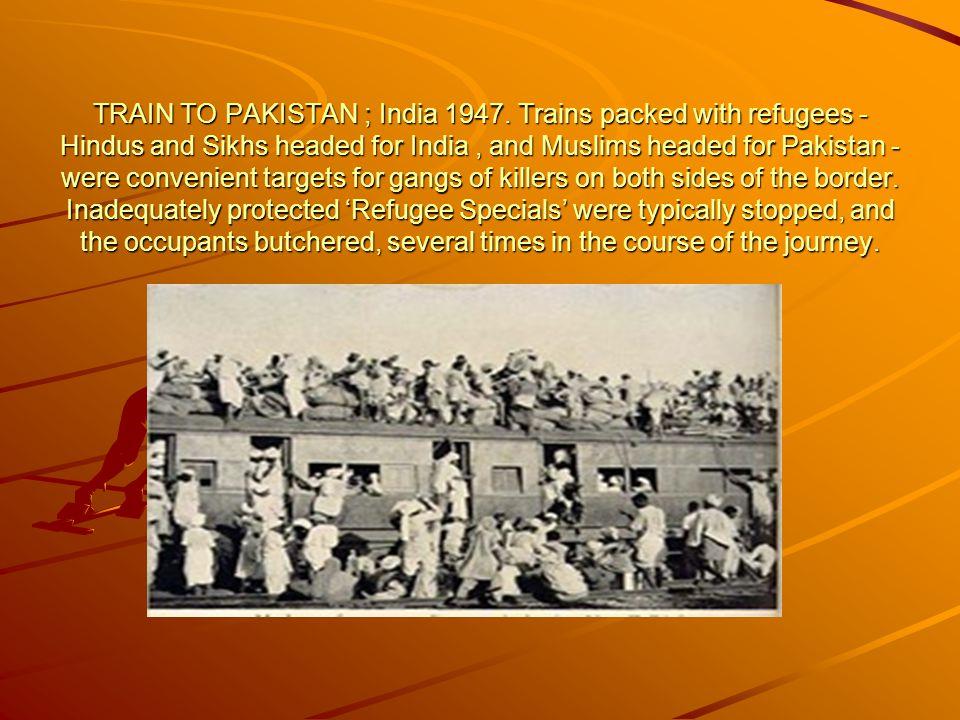The dead - Punjab, 1947