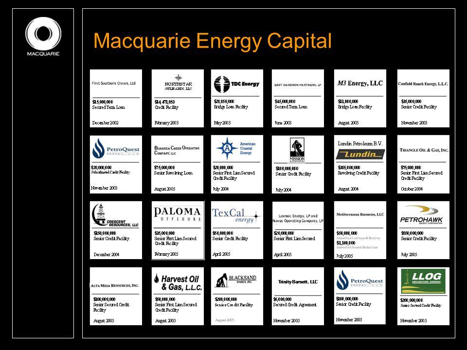 Macquarie Energy Capital