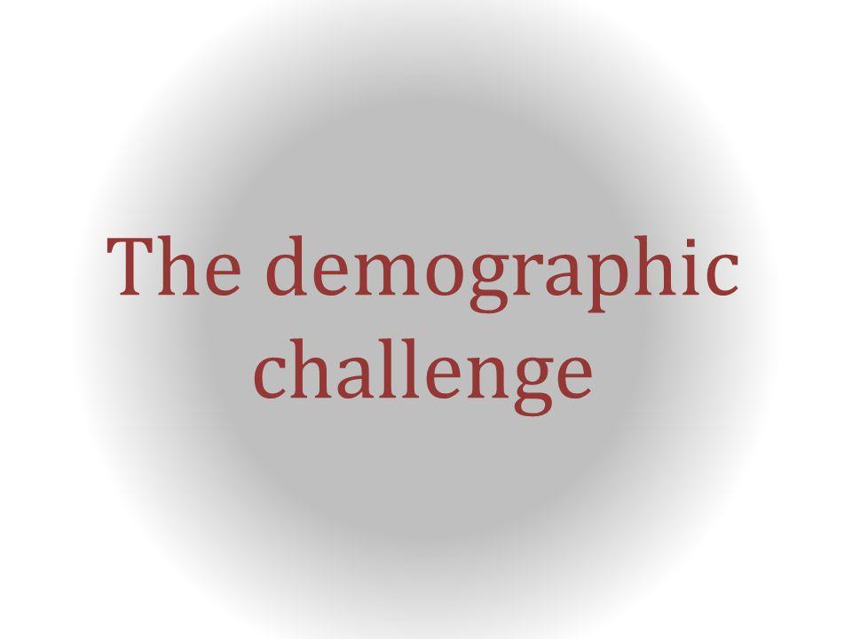 The demographic challenge