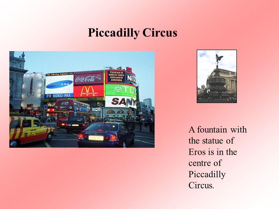 Trafalgar Square Nelson's column is in the centre of Trafalgar Square.