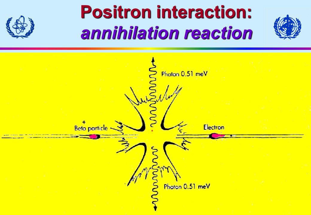 Module III - 31 Positron interaction: annihilation reaction