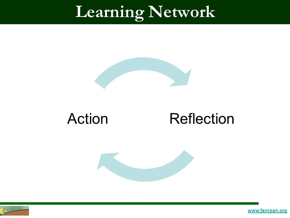 www.fanrpan.org Learning Network ReflectionAction