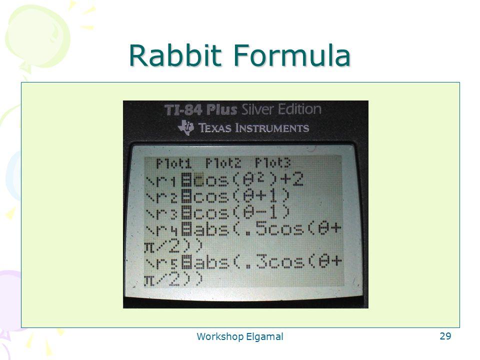 Workshop Elgamal 29 Rabbit Formula Ontsleutelen is: v delen door u a u (a1+a2) is: u a1.u a2 Deel eerst door u a1 en dan door u a2 Team 1: bereken v'